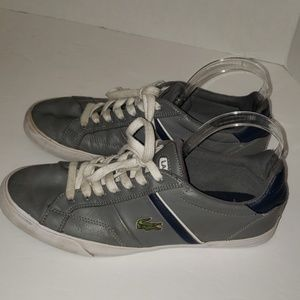 LACOSTE Sport Leather Sneakers size 9